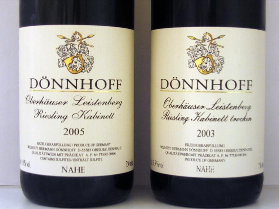 VINUM Doenhoff_Kabinett_and_Kabinett_trocken
