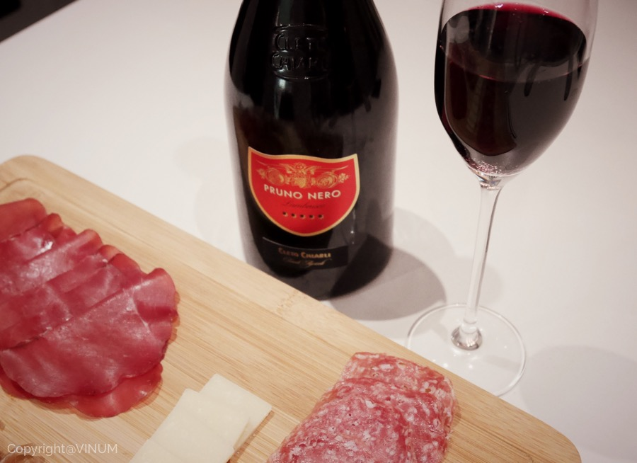 VINUM Lambrusco with cold meats