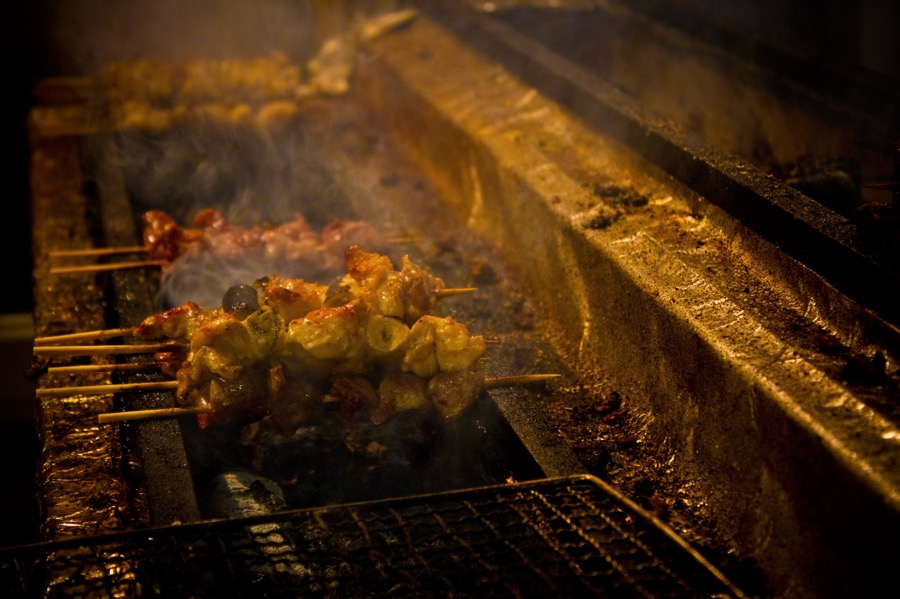 VINUM Yakitori-on-bbq