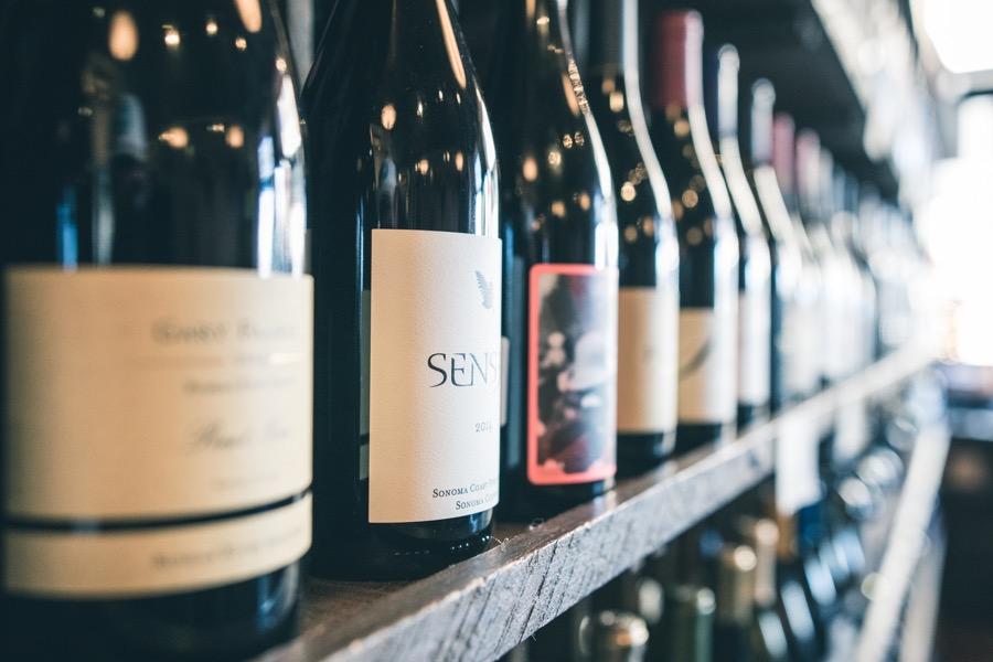 VINUM wine-bottles