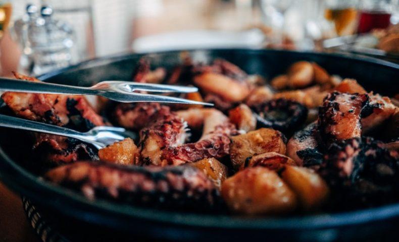 VINUM Octopus-dish