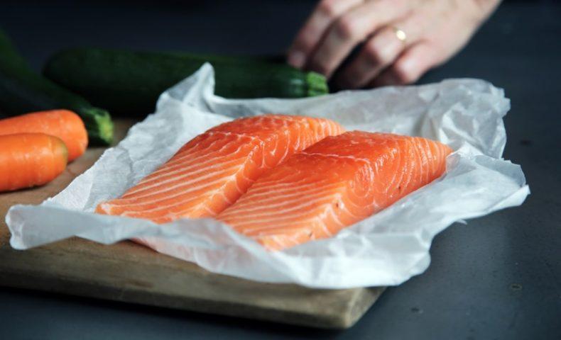 Salmon-preparation