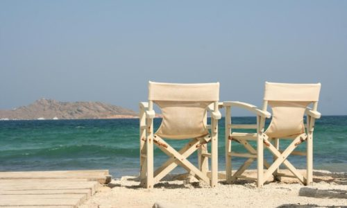 Chairs in Greece
